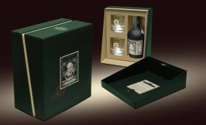 Venezuelan Rum with Glassware Box Set