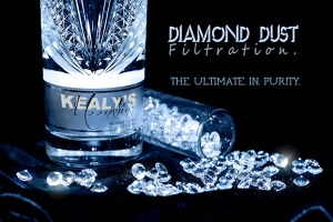 Diamond Dust filtration smooths out the taste